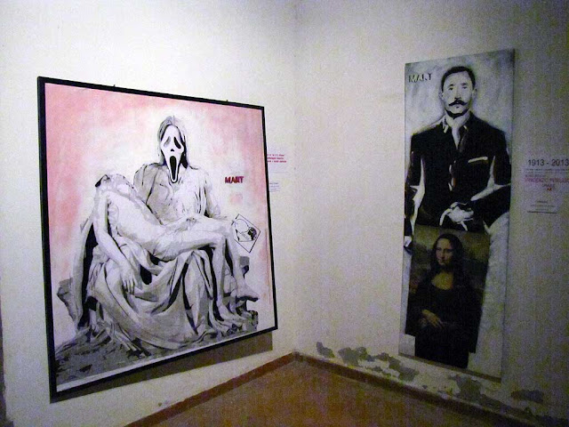 Mart exhibition, via Borra, Livorno