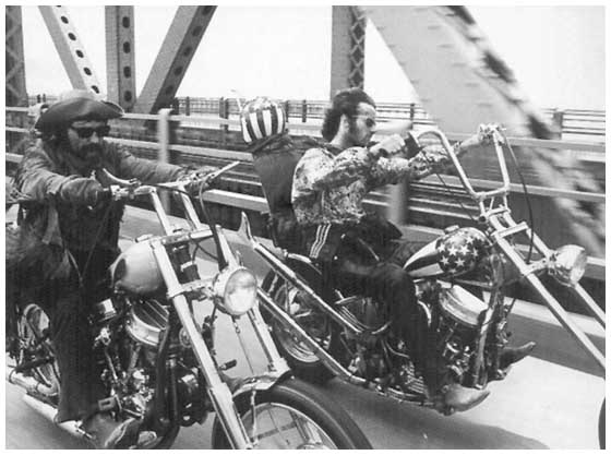 Cinematography in Easy Rider Essay