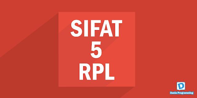 5 Sifat Anak RPL Yang Paling Ngetop - Dunia Programming