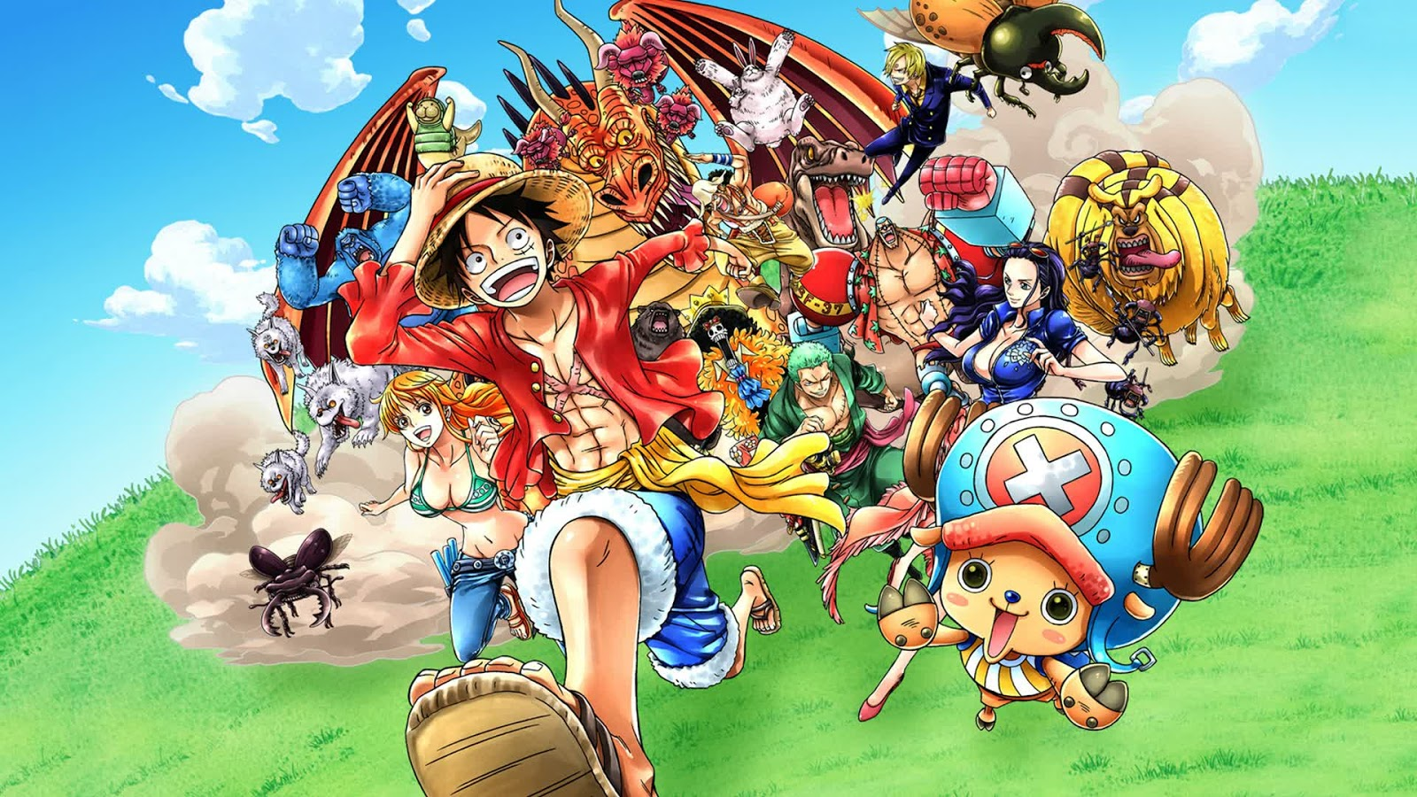 Of The Latest Installment Unlimited Series With Over 50 DLCs Included This Is Thirty Sixth Video Game Based On One Piece Manga Anime
