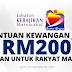 Bantuan Kewangan RM200 Kepada Rakyat Malaysia Yang Belum Mendapat Pekerjaan