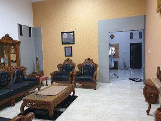 Ruang Keluarga Rumah Mewah Murah Dalam Komplek Di Gaperta Ujung Medan