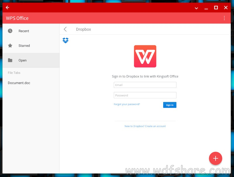 WPS Office Setup free download