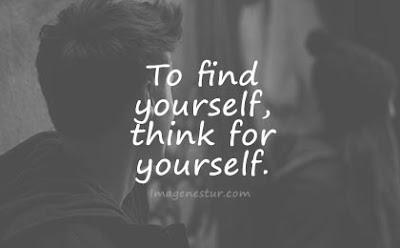 short quotes to find yourself, think for yourself