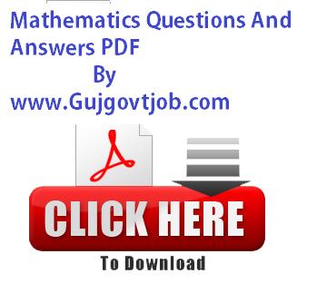 Mathematics Questions And Answers PDF - Ganit By Manav Prakashan
