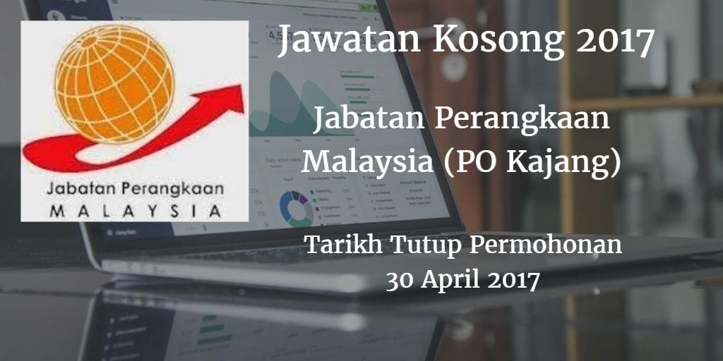 Jawatan Kosong Jabatan Perangkaan Malaysia (PO Kajang) 30 April 2017