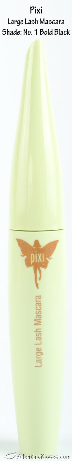 Pixi By Petra Large Lash Mascara Bold Black - 0.25oz