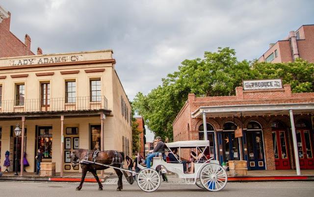 Tour por Old Sacramento em Sacramento