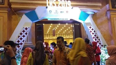 LKS SMK ke-27 ini, Yogyakarta didapuk menjadi tuan rumah