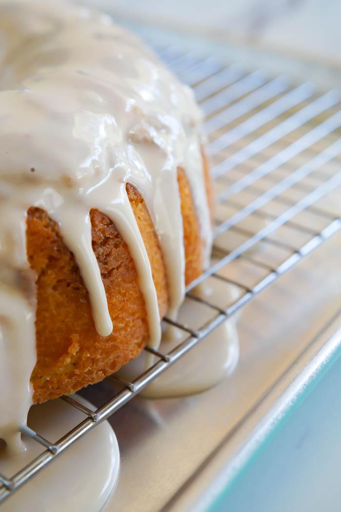 Butterscotch + Beer Bundt Cake |  bakeat350.net