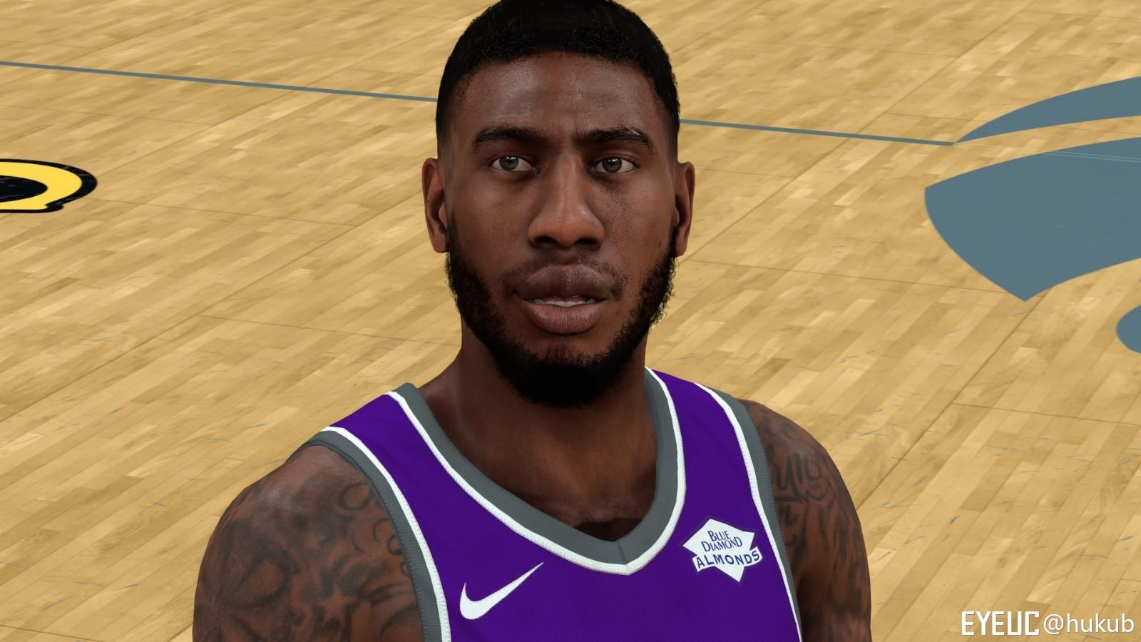 b63cb380d NBA 2K19 - Iman Shumpert Cyberface Mr.Star - Shuajota