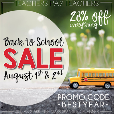 Teachers Pay Teachers Best Year Ever Sale