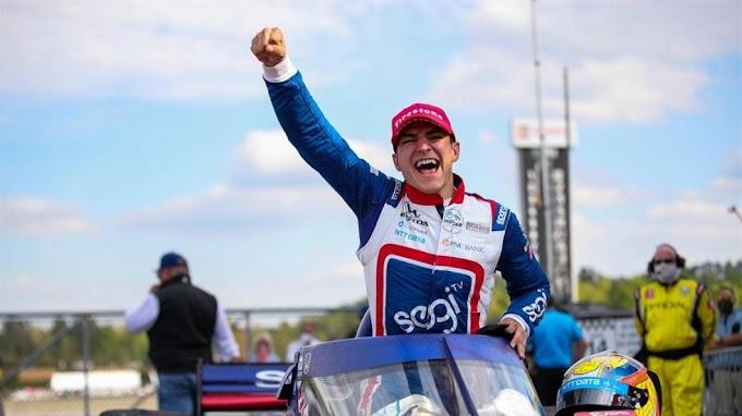 Alex Palou es el primer español en ganar en Indycar