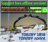 TORSBY donation amount progress