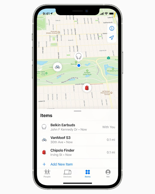 """Apple has Announced Launch of its New """"Find My"""" Network Accessory Program"""