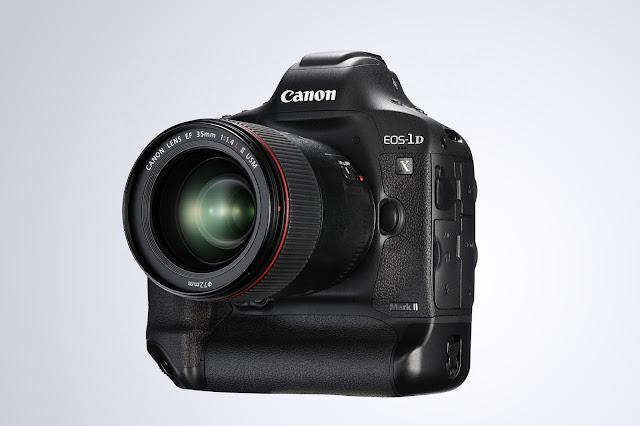 Canon presenta la cámara digital profesional Eos-1d x Mark II