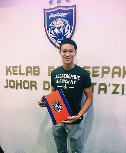 Dominic Tan Jun Jin ke JDT