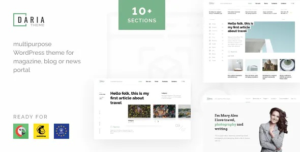 Best Blog & News WordPress Theme