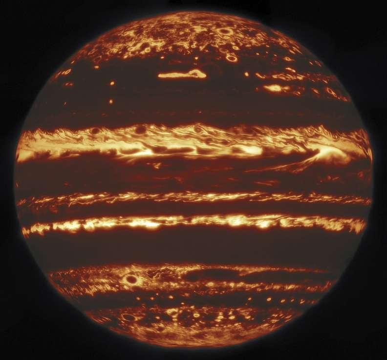 Sharpest Images of Jupiter