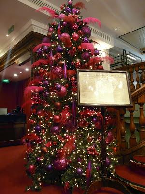 Londres Fortnum & Mason à Noël