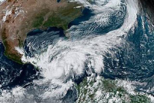 Monstruoso: Así se aprecia desde el espacio a Eta. Foto CIRA/NOAA