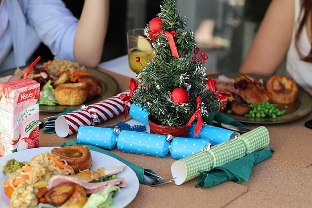 prevent overeating holidays christmas dinner frugal fitness food
