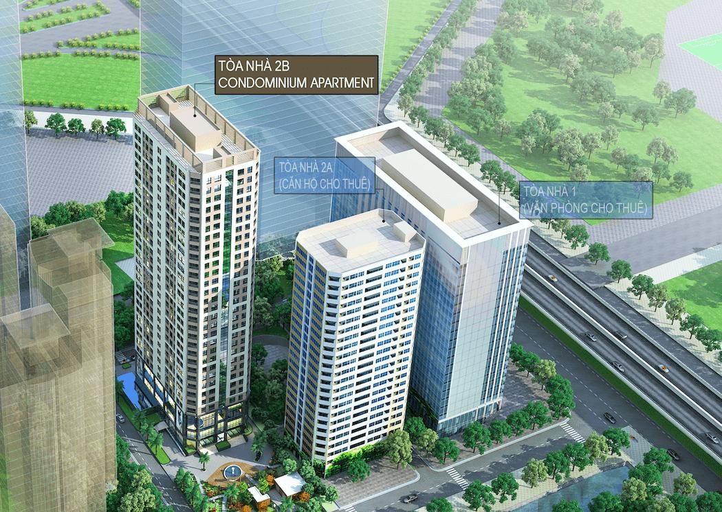 Phối cảnh khu chung cư Vinata Tower