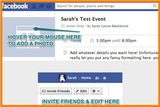 how to create an event on facebook and make it private