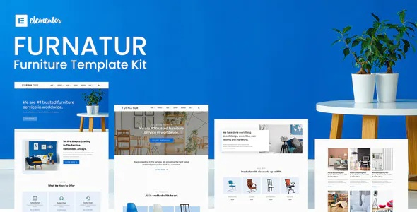 Best Furniture eCommerce Template Kit