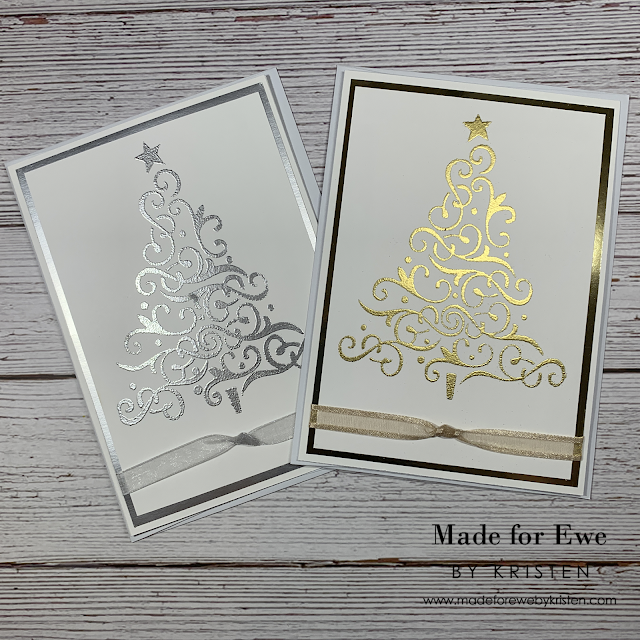 Silver & Gold Christmas Trees