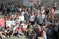 Το 2ο Δημοτικό Βριλησσίων επισκέφτηκαν ο Διαμαντίδης και ο Σπανούλης, κατόπιν πρωτοβουλίας του Σταύρου Κοντονή