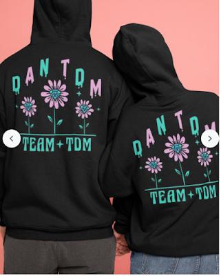 DanTDM Spring Diamonds T Shirts