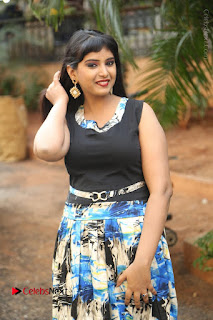 Actress Model Poorni Stills in Floral Long Dress at Silk India Expo Launch  0005.JPG