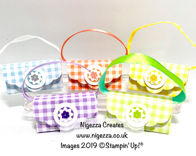 Nigezza Creates, My Stampin' Up! Retiring Favourites:Gingham Gala DSP