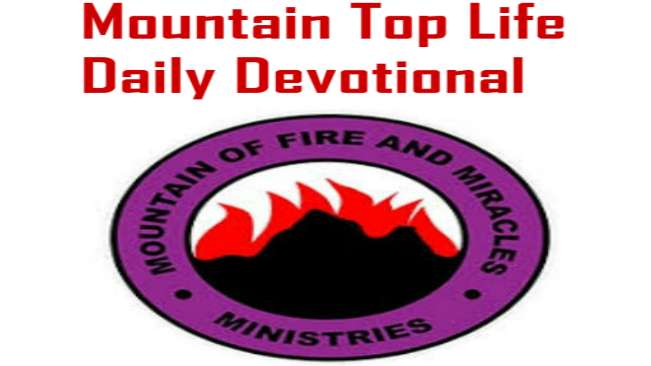 MFM Mountain Top Life Daily Devotional The Spirit Of Kadesh