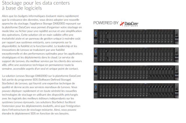 Lenovo DX D l ;appliance por SDS Software Defined Storage Powered By DataCore