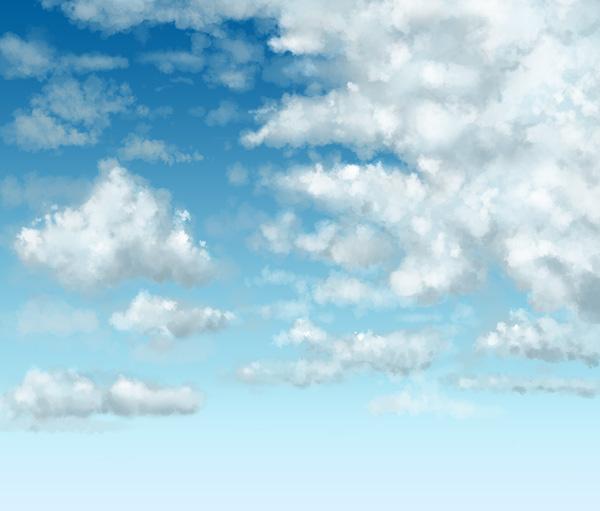 Рисуем облака в Фотошопе
