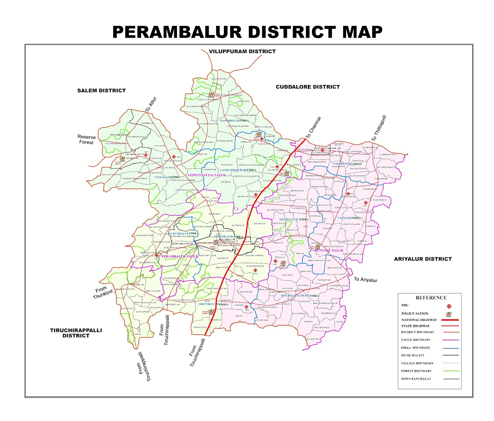 Tamilnadu Tourism: Perambalur – General Information