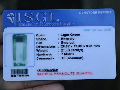 ISGL Gems report