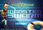 لعبة مغامرات ابطال ليوكو ضد الوحوش المسربة  Code Lyoko: Monster Swarm