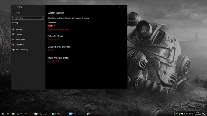 Windows 10 Oyun Modu ile Gündeme Geldi!