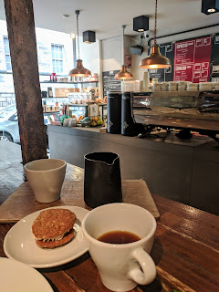 Where to eat in Edinburgh in Summer: Brew Lab Coffee