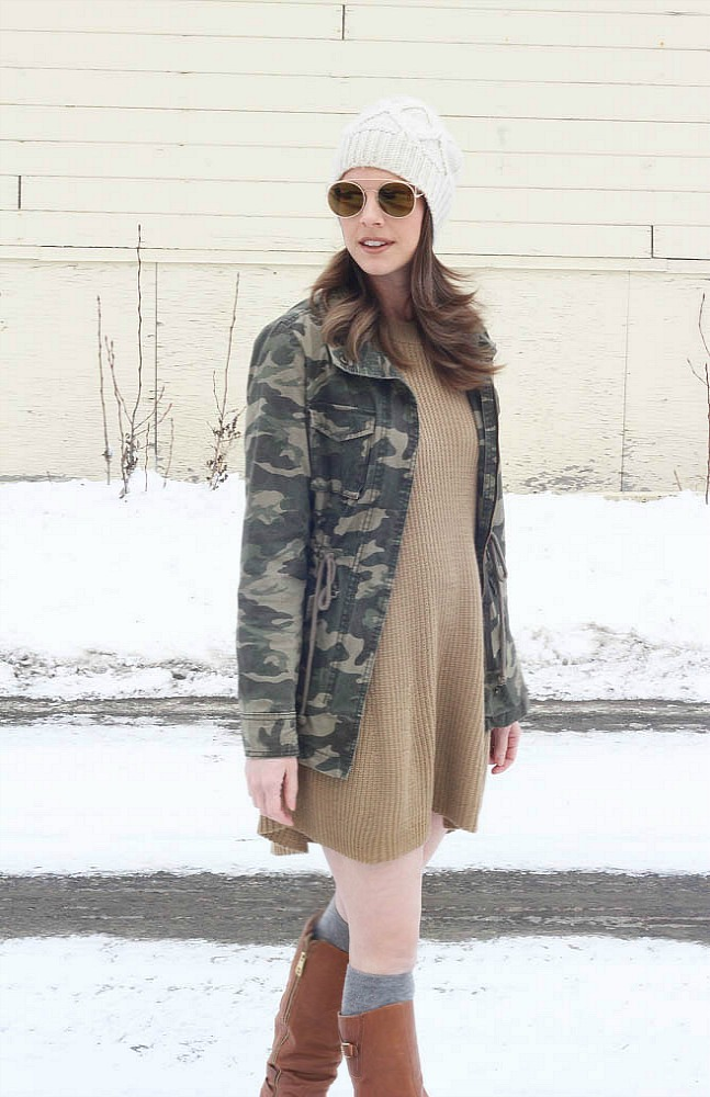 Cute Spring Outfits-Sweater Dresses