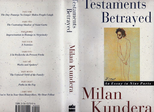 testaments betrayed an essay in nine parts Betrayed: an essay in nine parts by milan , testaments betrayed is written like a novel: the same characters appear and reappear throughout the nine parts of the book, as do the principal themes that preoccupy the author.
