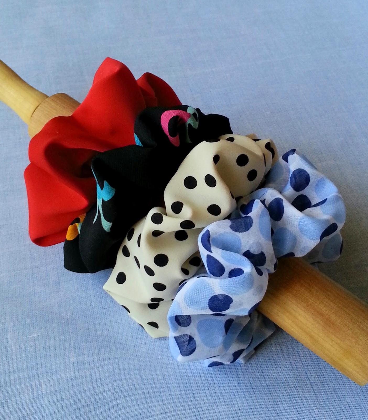 Velvet Ribbon Diy Hair Tie