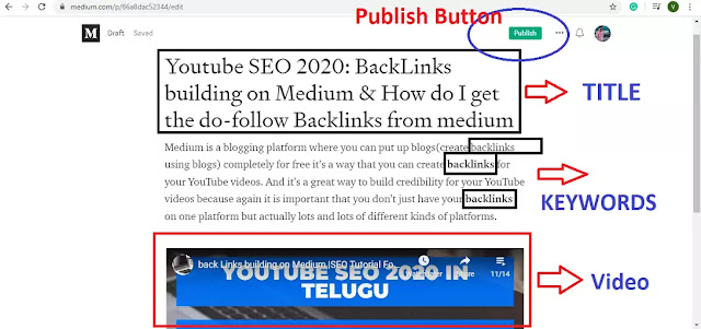 Youtube-SEO-2020-BackLinks-building-on-Medium-and-How-do-I-get-the-do-follow-backlinks-from-medium-and-other-website