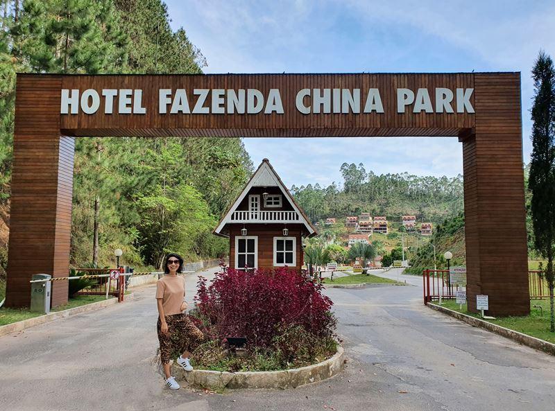 De Vitória ao Hotel Fazenda China Park