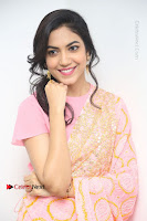 Actress Ritu Varma Pos in Beautiful Pink Anarkali Dress at at Keshava Movie Interview .COM 0349.JPG