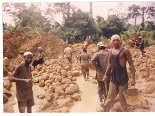 Gold Mining Site in Ghana