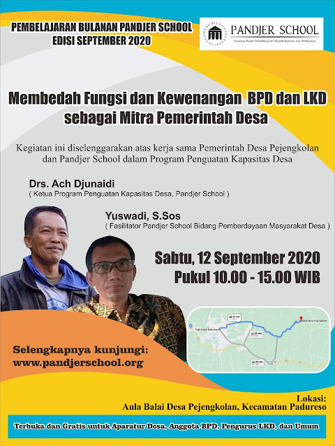 Poster Pembelajaran Bulanan